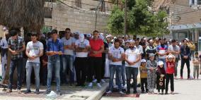 آلاف المصلين أدوا صلاة الجمعة في الحرم الإبراهيمي