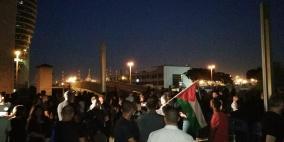 فيديو.. تظاهرة في حيفا تضامنا مع غزة