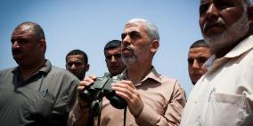 السنوار: لدينا مفاجآت جديدة اذا شنت اسرائيل حربا على غزة