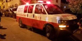 مصرع مواطنة واصابة 4 آخرين في حادث سير شمال الخليل