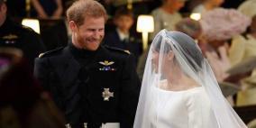 بالفيديو بكاء الأمير هاري في حفل زفافه ومالسبب ؟