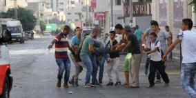 اصابة شاب برصاص الاحتلال جنوب نابلس