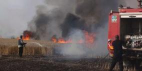الطائرات الورقية تواصل إشعال الحرائق في غلاف غزة