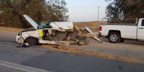 مصرع شخصين بحادث سير في النقب
