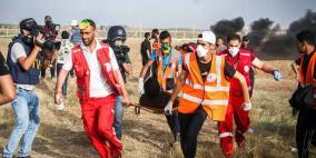 شهيد و 220 اصابة برصاص الاحتلال شرق غزة