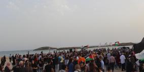 مشاركة جماهيرية واسعة في مسيرة شهداء الطنطورة