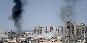 القصف الاسرائيلي يتواصل وصفارات الانذار تدوي في مستوطنات غلاف غزة