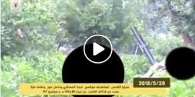 سرايا القدس تنشر فيديو  لقصف المواقع العسكرية الإسرائيلية