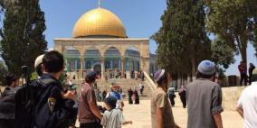 أكثر من 130 مستوطنا يقتحمون المسجد الأقصى