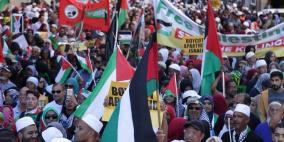 فعاليات في جنوب افريقيا تضامنا مع فلسطين