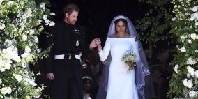 أغرب هدية يتسلمها الأمير هاري وزوجته