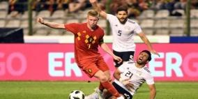"""مونديال 2018.. مصر تخسر اختبارها """"الأخير"""" أمام بلجيكا"""