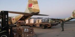 17 طائرة مساعدات مغربية في طريقها الى غزة
