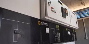 رفع قدرة محطة كهرباء خربة قلقس جنوب الخليل