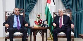 الرئيس يشكر الاتحاد الفلسطيني ومنتخب الارجنتين