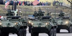 حادث غريب للمدرعات الأميركية أثناء مناورات عسكرية ضخمة