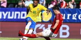 فيديو- البرازيل تستعرض على النمسا استعدادا للمونديال