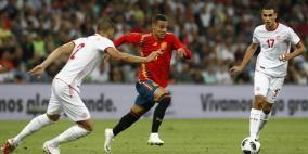 تونس تحرج إسبانيا قبل انطلاق المونديال