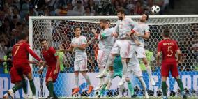 رونالدو يقارع إسبانيا ويعادلها بهاتريك تاريخي