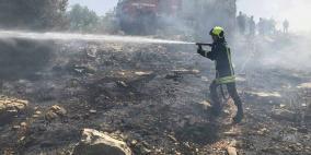 اخماد 70 حريقا في ثاني أيام العيد