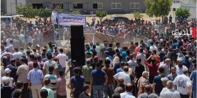 الاتلاف المدني  يدين الاعتداء على المتظاهرين السلميين في غزة