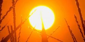 الطقس: الحرارة أعلى من معدلها بحدود 6-7 درجات