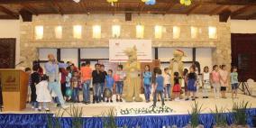 """جمعية عطاء فلسطين الخيرية تختتم فعاليات """"حملة رمضان يجمعنا"""
