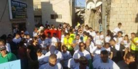 مسيرة في كفر سميع تطالب بالانفصال عن كسرى