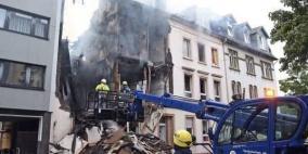 25 جريحا في انفجار ضخم دمر مبنى غرب ألمانيا