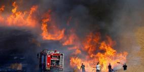 غلاف غزة- حرائق الطائرات الورقية اندلعت في كل مكان