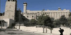 وزير اسرائيلي يقتحم الحرم الإبراهيمي