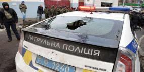 """فيديو"""" صاحب مطعم كييف يطلق الرصاص على زبائنه"""