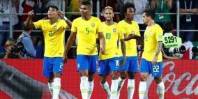 البرازيل تتجاوز صربيا بهدفين نظيفين وتتأهل للدور الثاني