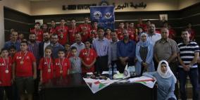 بلدية البيرة والاتحاد الفلسطيني للشطرنج ينظمان بطولة تنشيطية