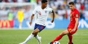 بلجيكا تعبر بإنجلترا للدور الثاني وفوز شرفي لتونس