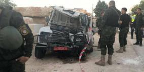 صور- وفاة 3 عناصر من الأمن الوطني بحادث سير في جنين