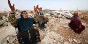 بتسيلم: الاحتلال يستعد لارتكاب جريمة حرب في الخان الاحمر