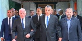 """الأحمد يلتقي مسؤولين مصريين """"لتحريك المصالحة"""""""