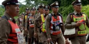 إعلان انتهاء عملية انقاذ فتية الكهف في تايلاند