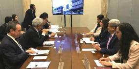 أول جلسة مشاورات سياسية بين فلسطين والبيرو