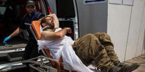 إصابة ضابط من جيش الاحتلال شرق غزة