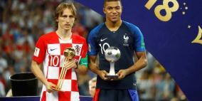 مودريتش يحصد جائزة أفضل لاعب في المونديال
