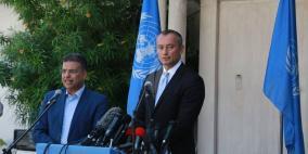 ملادينوف: غزة كانت بالأمس على حافة حرب حقيقية