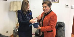 جرار تلتقي وزير العدل البيروفي