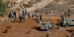 الاحتلال يستولي على 120 دونما من أراضي الخضر