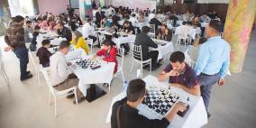 الاحتلال يعيق انعقاد بطولة النخبة للشطرنج