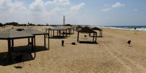 """جيش الاحتلال يغلق شاطئ """"زيكيم"""""""