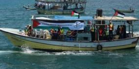 اسطول الحرية الى غزة يضم طيارا حربيا اسرائيليا بين متضامنيه
