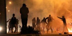 اعتقال 20 مواطنا وإصابة مجندة بمواجهات بالدهيشة