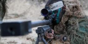 قناص غزة يثير ذعر ضباط الإحتلال